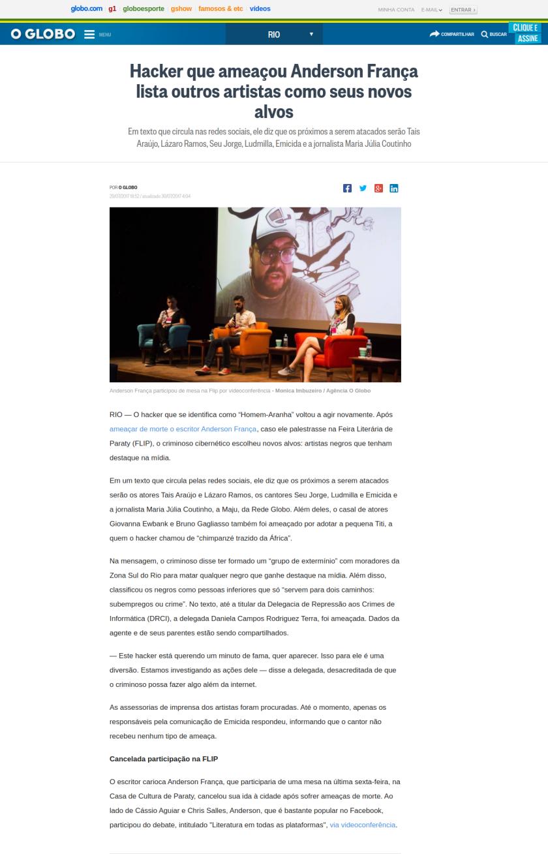 Ricardo Wagner Arouxa Racista Impunidade 4